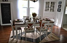 dinning white dining room set dining table centerpiece small
