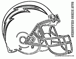 coloring pages football helmet coloring home