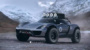 this porsche 918 render needs to be a reality top gear