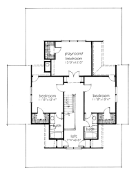 plan house four gables southern living house plans