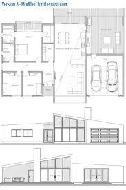 house plan 438 1 rear view the nebolon house pinterest