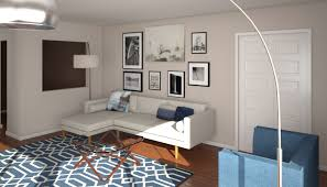 before u0026 after mid century modern living room design online