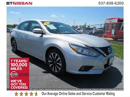 nissan altima 2016 dealer certified pre owned 2016 nissan altima 2 5 sl 4dr car in vandalia