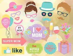 printable hippie photo booth props instant download mother s day photo booth props printable love mom