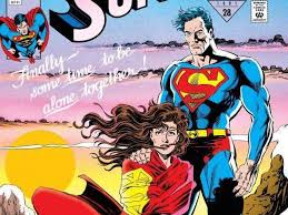 superman wedding album essential reading dan jurgens s superman