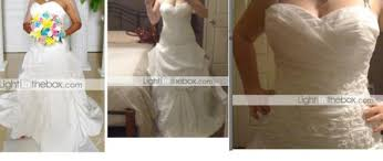 light in the box wedding dress reviews help thinking of getting a dress from either light in the box and