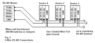 rs 485 connections faq 2 wire rs485 rs232 b u0026b electronics