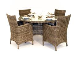 Rattan Dining Room Set Chairs Finding The Best T Throughout Design - Wooden dining table with wicker chairs
