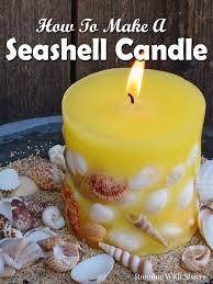 how to get wax out of a candle diy candle making designer seashell candles seashell candles