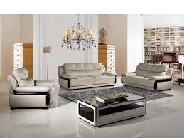 modern italian living room furniture wooden tier glass top