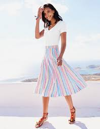 cora skirt wg710 below knee skirts at boden