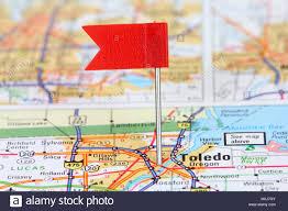 Toledo Ohio Map Usa Map Flag Stockfotos U0026 Usa Map Flag Bilder Seite 2 Alamy