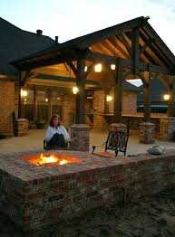Fire Pit Ideas Pinterest by Articles With Covered Patio Fire Pit Ideas Tag Amusing Covered