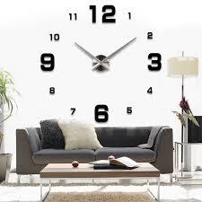 Wohnzimmer Uhren Wanduhr Asiv Xxl 3d Diy Moderne Wanduhr Wohnzimmer Wandtattoo Dekoration