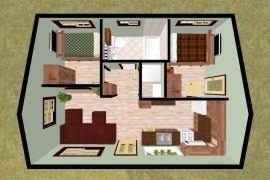 Two Bedroom House Plans Tiny House - Two bedroom house design