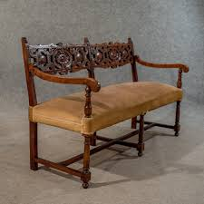 Loveseat Settee Upholstered Tribeca Table Upholstered Side Chairs And Bench Tobacco Image On