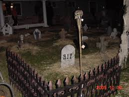 outdoor halloween decorations halloween tombstones cemetery