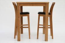 Breakfast Bar Table And Stools Oak Bar Stools Kitchen Stools Oak Breakfast Bar Stools