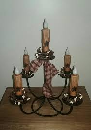 wrought iron timer candle centerpiece battery operated candles pip