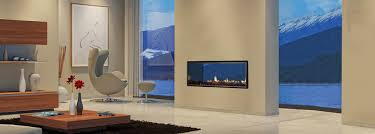 Dual Gas And Wood Burning Fireplace by Escea Double Sided Gas Fireplaces
