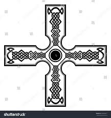 celtic cross tattoosceltic cross tattoo another stock vector