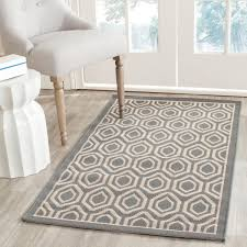 Indoor Outdoor Rugs Overstock by Grey Outdoor Area Rug Courtyard By Safavieh
