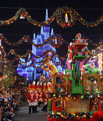 magic kingdom christmas lights 2010 holiday happenings at the disney world resort travel with the