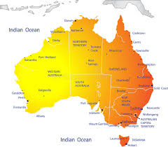 map of australia political political map of australia stock vector image of raster 8354646