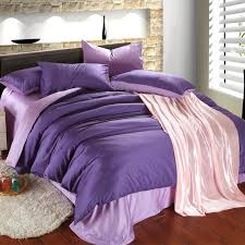 Lilac Bedding Sets Luxury Purple Lilac Bedding Set Duvet Cover King Size