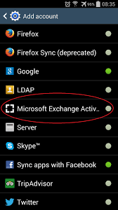 setup your zimbra account on an android phone or tablet decs