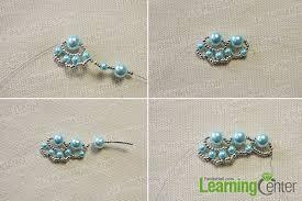 woven bracelet tutorials images Woven bracelet tutorial how to make a light cyan woven pearl bead jpg