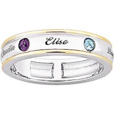 mothers ring band cheap birthstone ring find birthstone ring deals on