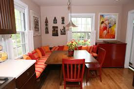 banquette table as the best dining room and kitchen furniture