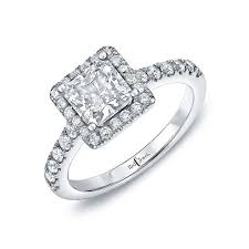 cut wedding rings cushion cut engagement rings brides