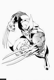 wolverine coloring pages ecoloringpage com printable coloring pages