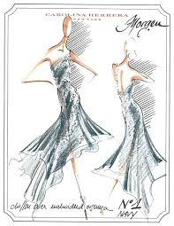 fashion and ballet go so well together and we have the sketches