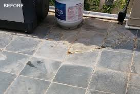 Outdoor Slate Patio Slate Cleaning Sealing And Stain Removal Phoenix Az