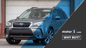 subaru forester 2017 blue 2017 subaru forester why buy