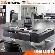 mobilier bureau modulaire nouveau design mdf de luxe table en bois modulaire mobilier de