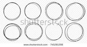 hand drawn circle vector shapes download free vector art stock