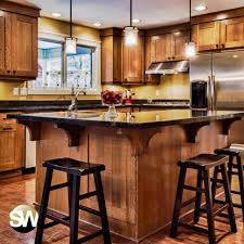 types of kitchen islands kitchen wooden kitchen island with black wooden barstool and