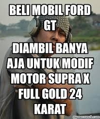 Meme Mobil - mobil ford gt