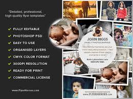photography flyer template v2 flyerheroes