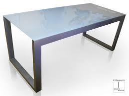 Schreibtisch Glas Glas Schreibtisch Modern Maza Gonzalo De Salas