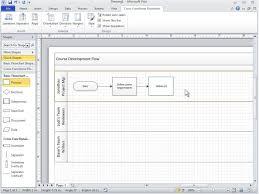 membuat flowchart di visio 2010 video cross functional flowchart basics visio