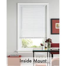 Temporary Blinds Home Depot Bali Cut To Size White 1 In Room Darkening Vinyl Mini Blind 72