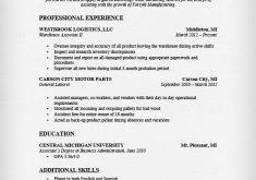 Warehouse Worker Resume Example by Chef Resume Sample Resume Example