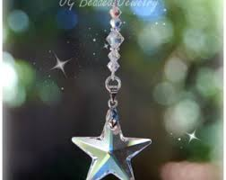 swarovski rearview mirror car charm hanging