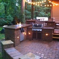 Large Paver Patio Design With Grill Station Bar Plan No by Diy Outdoor Fire Bar And Grill Station Favorite Places U0026 Spaces