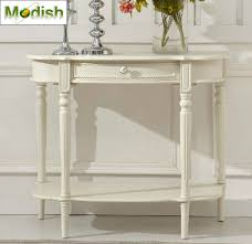 Ivory Console Table Entrance Console Table With Drawer In Ivory Md14j 800952